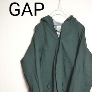 GAP - USA古着 90s GAP ギャップ ナイロンジャケット モスグリーン