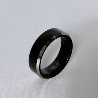 13号メンズ★未使用 タングステン リング 指輪 BLACK(リング(指輪))