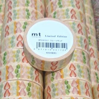 エムティー(mt)のmt 限定 mt store銀座Itoya マスキングテープ フルーツサンド(テープ/マスキングテープ)