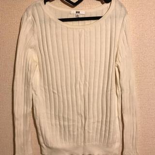 ユニクロ(UNIQLO)のコットンカシミヤセーター(ニット/セーター)