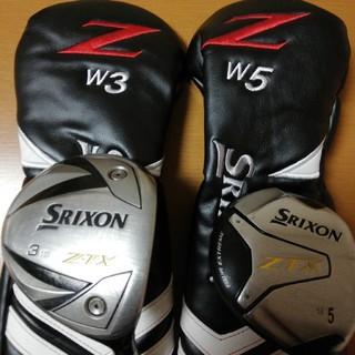 スリクソン(Srixon)のsrixon z-tx 3w 5w kusala72s(クラブ)