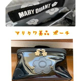 マリークワント(MARY QUANT)のMARY QUANT マリクワ ポーチ ミラー付き(ポーチ)