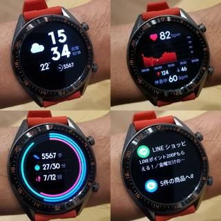 Huawei watch gt ダークグリーン
