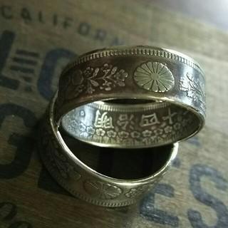 シルバーリング コインリング 20号(リング(指輪))