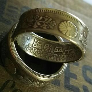 コインリング 50銭 シルバーリング 20号(リング(指輪))