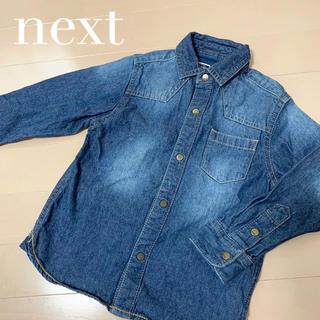 ネクスト(NEXT)のnext/ネクスト*おしゃれデニムシャツ*男の子(ジャケット/上着)
