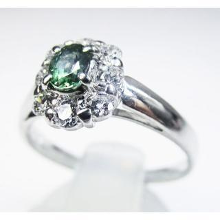 希少宝石・天然アレキサンドライトデザインリング(リング(指輪))