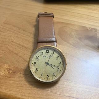 カシオ(CASIO)のrelax timber 腕時計(腕時計)