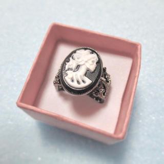 特価高品質!アンティーク風ブローチのリング ゴースト 15、16号相当(リング(指輪))