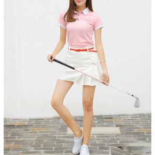 インナーパンツ一体型!ゴルフウェア レディース ゴルフ スカート スポーティー (ミニスカート)