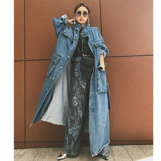 Ameri VINTAGE - Ameri DENIM WORK LONG COAT