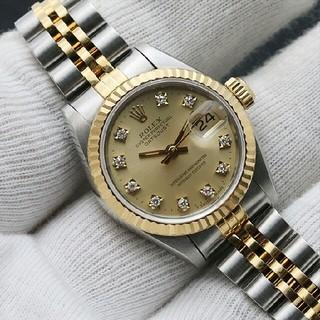 ROLEX - Rolexログシリーズ女性用腕時計ダイヤモンドウォッチ