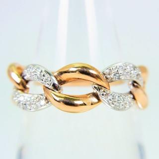 750 ダイヤモンド リング 14号 [f73-7](リング(指輪))