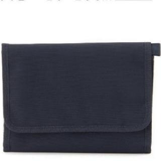 MUJI (無印良品) - 無印良品 母子手帳ケース 小  ブラック 黒 20×15cm 新品未使用!