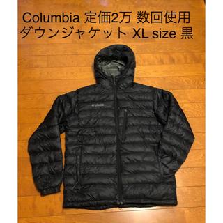 Columbia - 定価2万 コロンビア ダウンジャケット 黒 グースダウン XL - 2XL