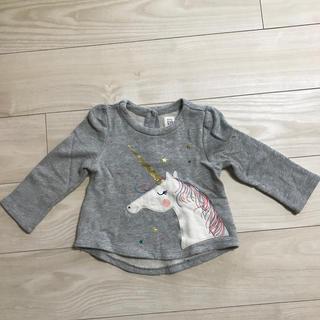 ギャップ(GAP)の☆美品☆ babyGAP ユニコーン☆チュニック風トレーナー(カットソー)(Tシャツ/カットソー)