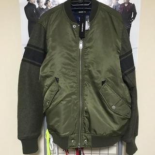DIESEL - DIESEL ma-1ジャケット