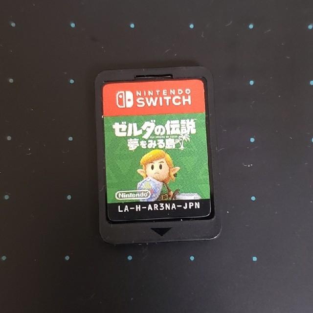 Nintendo Switch(ニンテンドースイッチ)のゼルダの伝説 夢をみる島 Switch リメイク エンタメ/ホビーのゲームソフト/ゲーム機本体(携帯用ゲームソフト)の商品写真