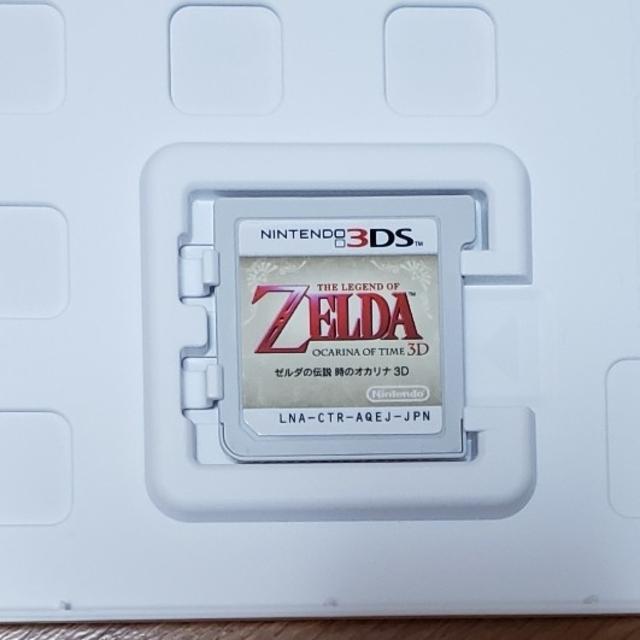 ニンテンドー3DS(ニンテンドー3DS)のゼルダの伝説 時のオカリナ 3D エンタメ/ホビーのゲームソフト/ゲーム機本体(家庭用ゲームソフト)の商品写真