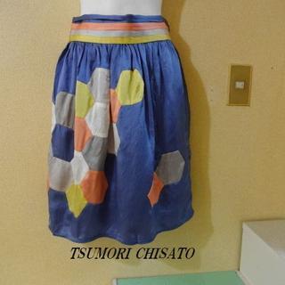 TSUMORI CHISATO - TSUMORI CHISATOツモリチサト♡ハチモチーフ光沢スカート