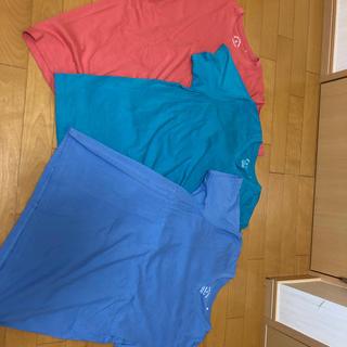GU - カラーTシャツ 3点セット