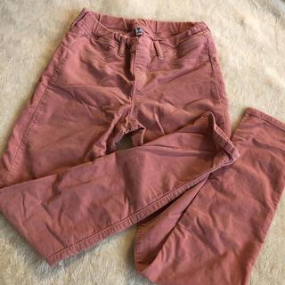 GU - GU140センチズボン薄いピンク色