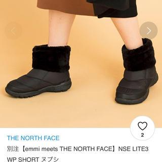 THE NORTH FACE - 週末限定❗️emmi THE NORTH FACE ヌプシショートブーツ 24