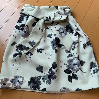トランテアンソンドゥモード(31 Sons de mode)のトランテラン ソン ドゥ モード 花柄スカート(ミニスカート)