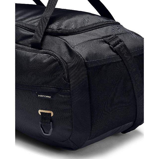 UNDER ARMOUR(アンダーアーマー)のアンダーアーマー ボストンバッグ 1342656 ブラックゴールド スポーツ/アウトドアのゴルフ(バッグ)の商品写真