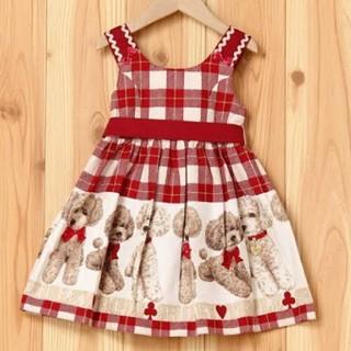 シャーリーテンプル(Shirley Temple)の1回着 プードル ジャンパースカート 120(スカート)