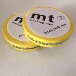 ミナペルホネン(mina perhonen)の2個セット mt x Mina perhonen マスキングテープ(テープ/マスキングテープ)