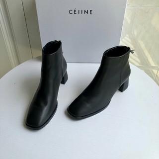 セリーヌ(celine)のceline セリーヌ 革靴 牛革 37(ローファー/革靴)