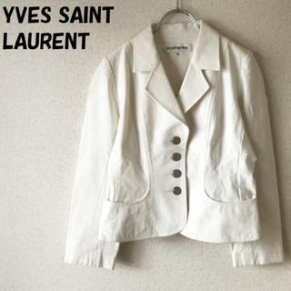 サンローラン(Saint Laurent)の【人気】イヴサンローラン ジャケット サイズ36 正規品 三陽商会 レディース(テーラードジャケット)
