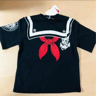 HYSTERIC MINI - 大幅値下げ! ヒステリックミニ ミニちゃんセーラーカラーpt BIG半袖Tシャツ