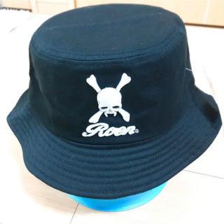 ロエン(Roen)の【新品タグ付き】Roen バケットハット 帽子 黒(ハット)