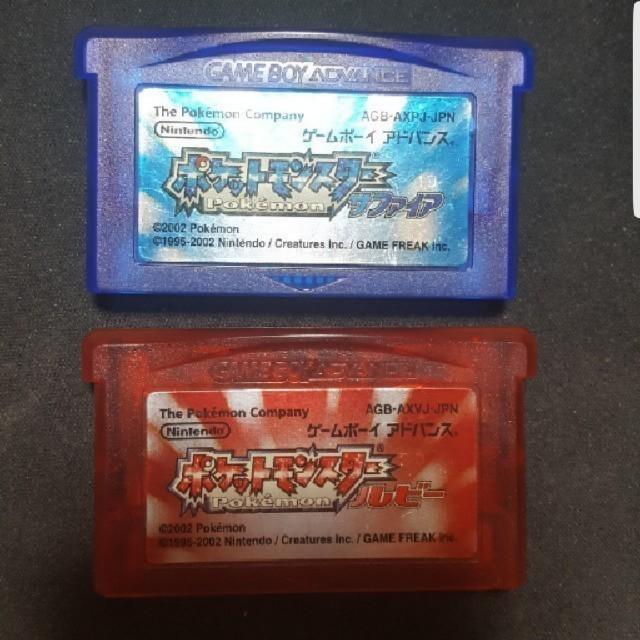 ゲームボーイアドバンス(ゲームボーイアドバンス)のGBA ゲームボーイ ポケモン  サファイア ルビー バラ売り値下げ不可 エンタメ/ホビーのゲームソフト/ゲーム機本体(携帯用ゲームソフト)の商品写真