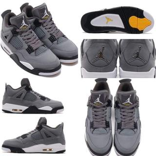 NIKE - NIKE Air Jordan 4 Retro COOL GREY