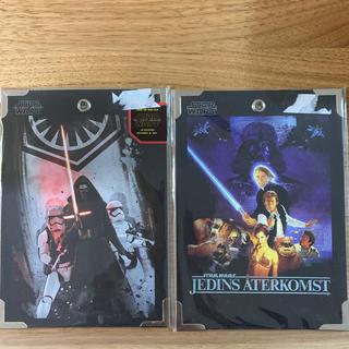 ディズニー(Disney)のスターウォーズ ポスターカード2枚セット(ポスター)