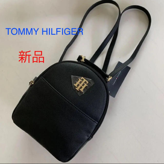 TOMMY HILFIGER - ☆新品☆ TOMMY HILFGER トミー ヒルフィガー 黒のリュックサック