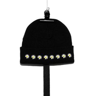 ピースマイナスワン(PEACEMINUSONE)のgd着用)Peaceminusone PMO KNIT CAP #3 DAISY(ニット帽/ビーニー)