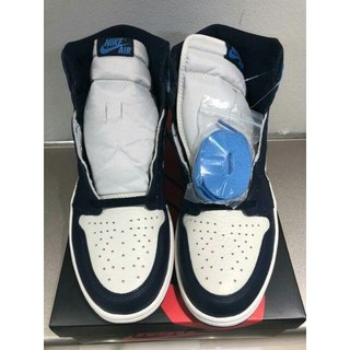 NIKE - NIKE AIR JORDAN 1 HIGH OG OBSIDIAN 27.5