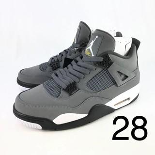 NIKE - Nike air jordan4 retro cool gray