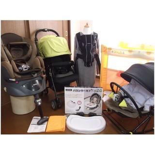 【送料無料】 出産準備セット (基②)「プーさんの簡易ベッド」ほか(ベビーベッド)