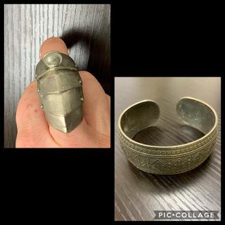 ハロウィン♦︎古代ローマ風♢指輪+バングルセット(リング(指輪))
