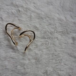 バレンシアガ(Balenciaga)のp15 Curved earrings silver925(ピアス)