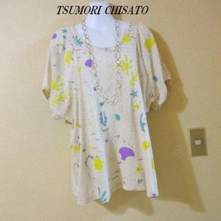 ツモリチサト(TSUMORI CHISATO)のTSUMORI CHISATOツモリチサト♡キュート柄カットソー②(Tシャツ(半袖/袖なし))