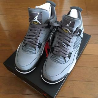 NIKE - AIR JORDAN 4 RETRO/ COOL GREY