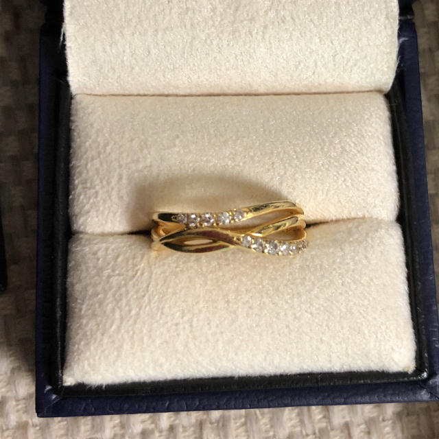 Vendome Aoyama(ヴァンドームアオヤマ)のヴァンドーム青山 イエローゴールド リング レディースのアクセサリー(リング(指輪))の商品写真