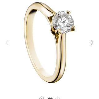 カルティエ(Cartier)の【Cartier】 ソリテール ダイヤモンドリング イエローゴールド(リング(指輪))
