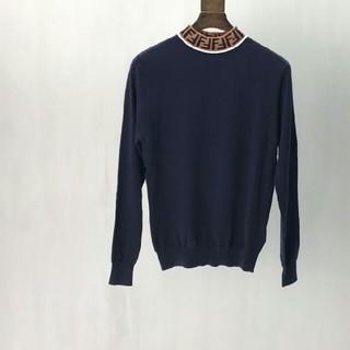 FENDI - Fendi フェンデ セーター ブラック 男女兼用 美品 お洒落